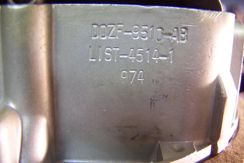 Correct Carb. 70 428cj or Boss 429